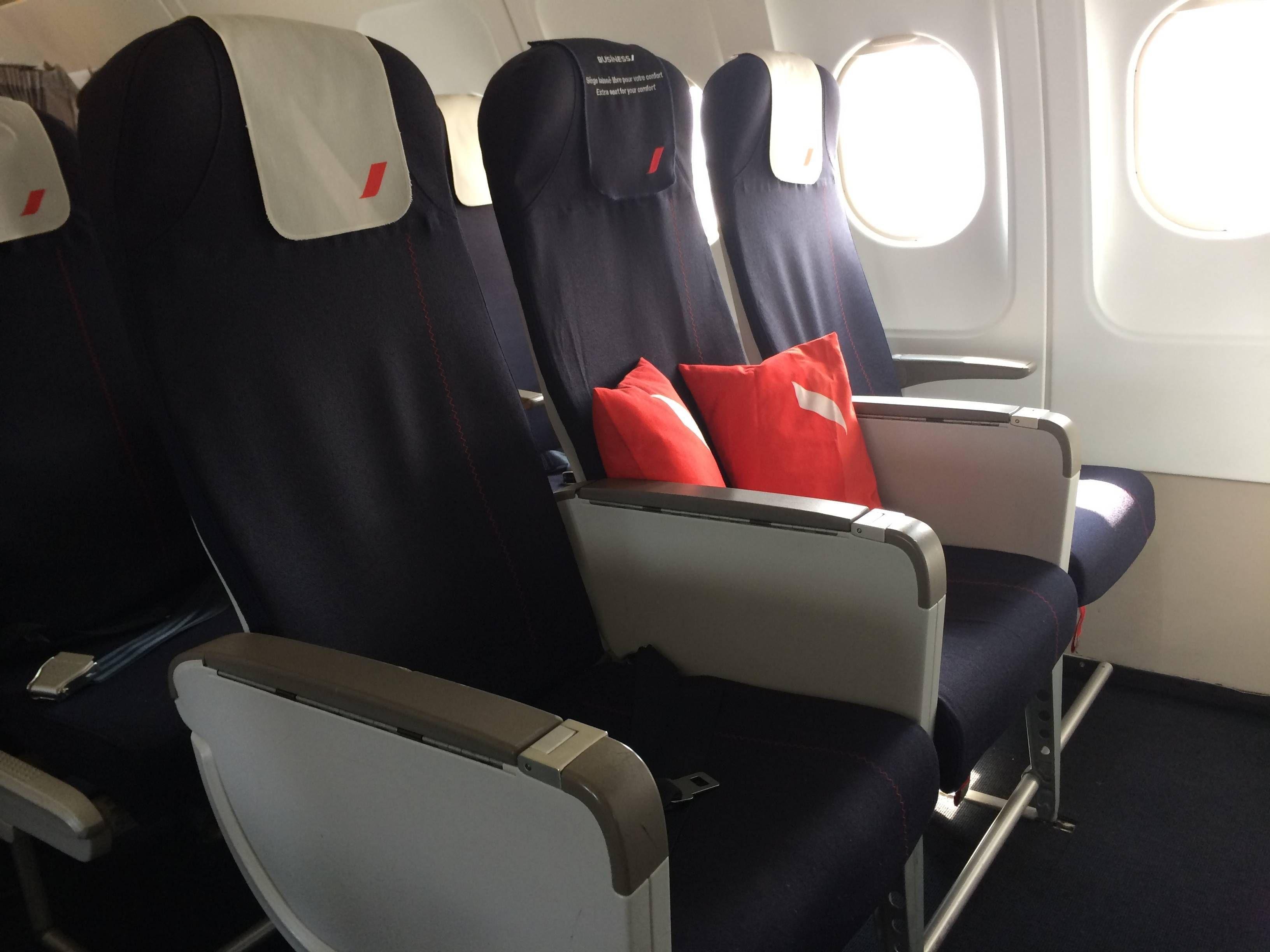air france a318 business class passageirodeprimeira