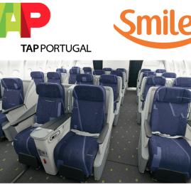 Smiles já permite resgate em vôos da TAP
