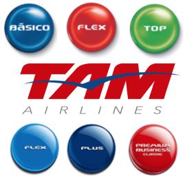 Saiba qual classe tarifária pertence sua passagem da TAM