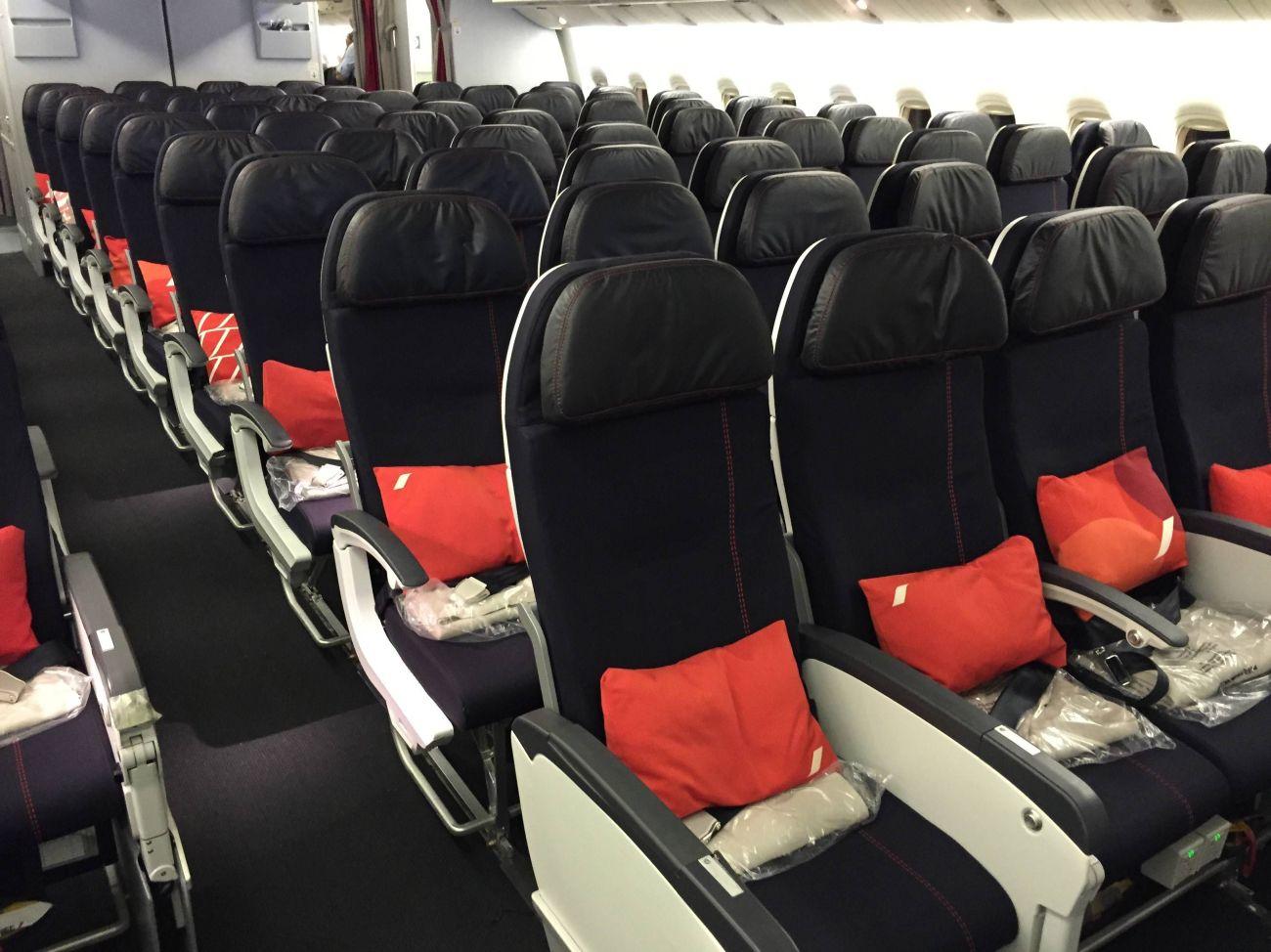 air france new business class nova classe executiva b777-200 passageirodeprimeira