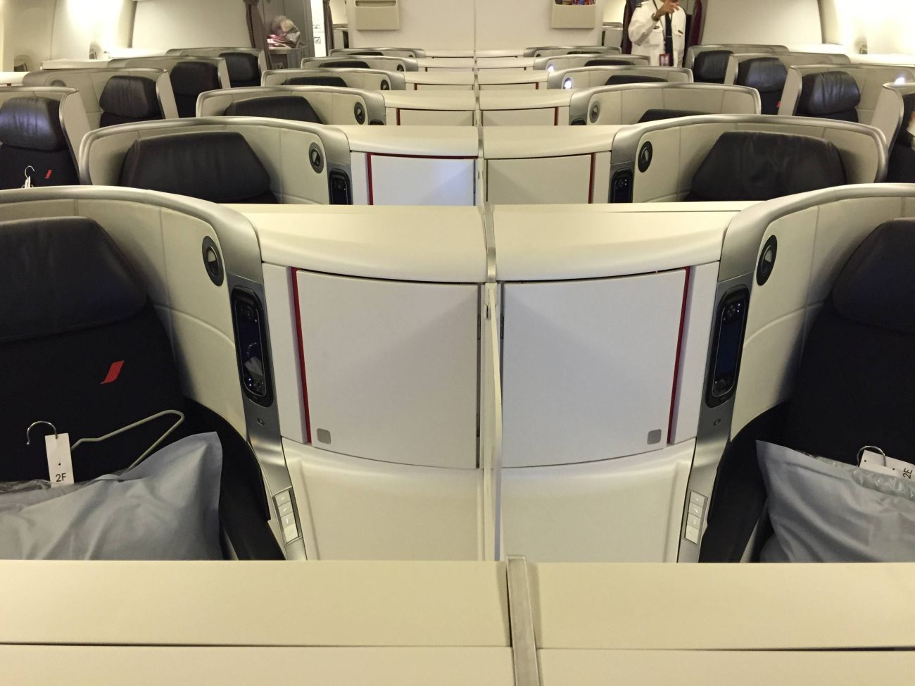 air france new business class nova classe executiva b777-200 passageirodeprimeira