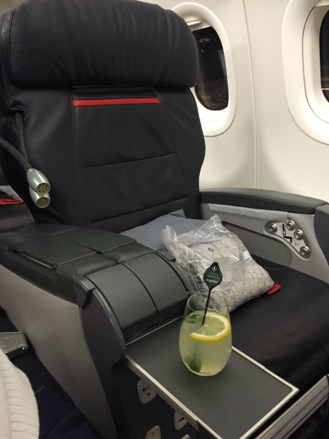 Turkish A321 Business Class