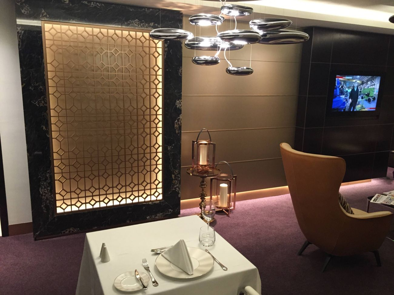 Etihad Lounge London Heathrow - Passageirodeprimeira 10