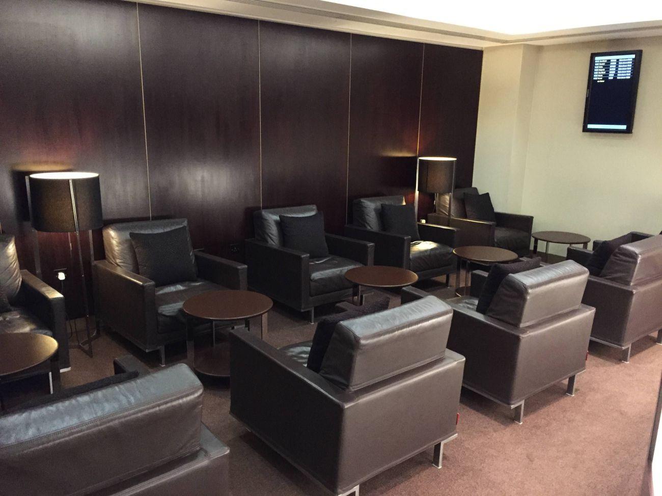 Etihad Lounge London Heathrow - Passageirodeprimeira 15