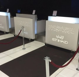 Etihad Airways Premium Check-in – Aeroporto de Abu Dhabi (AUH)