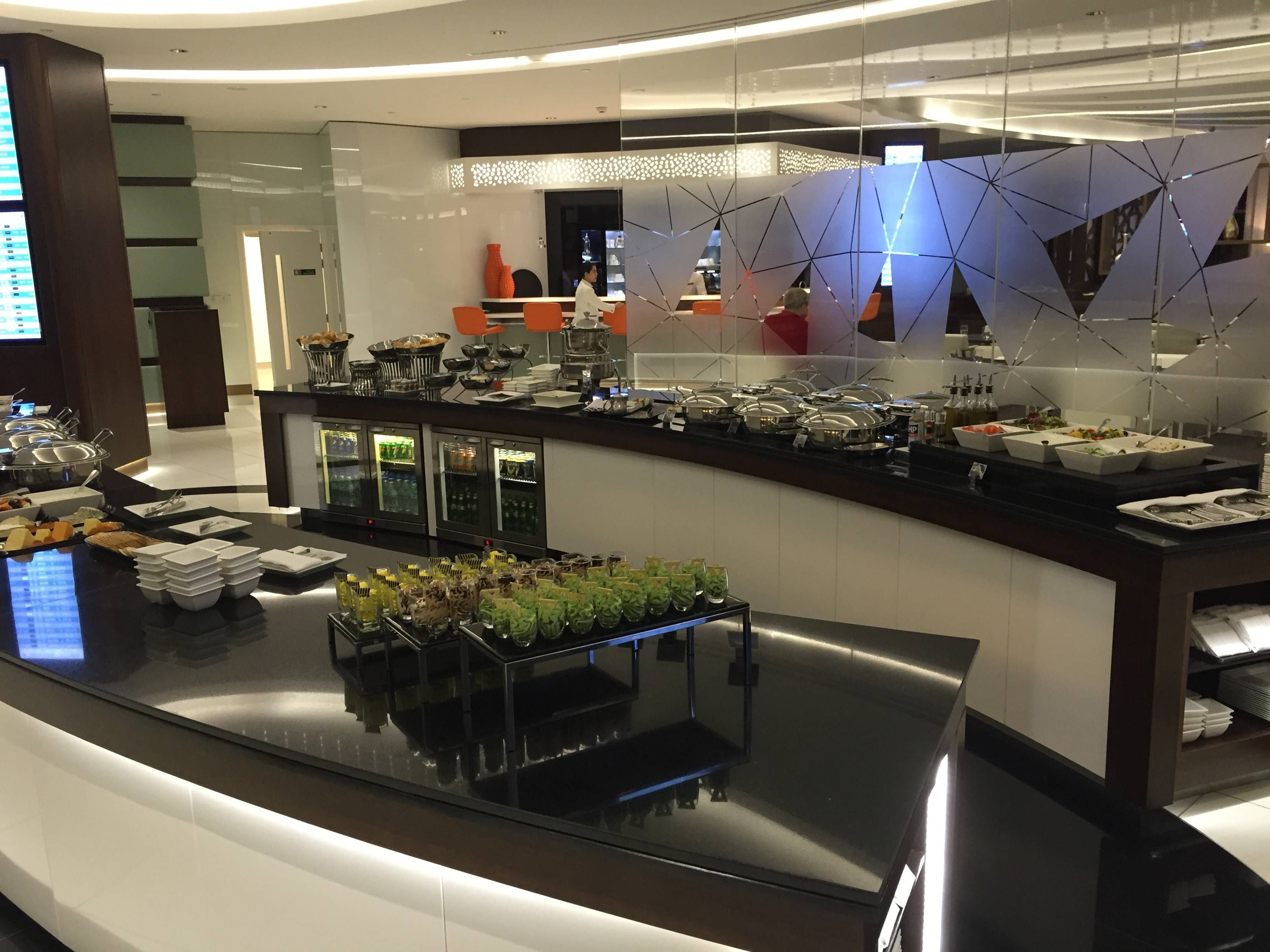 Etihad Premium Lounge Abu Dhabi - Passageiro de Primeira5