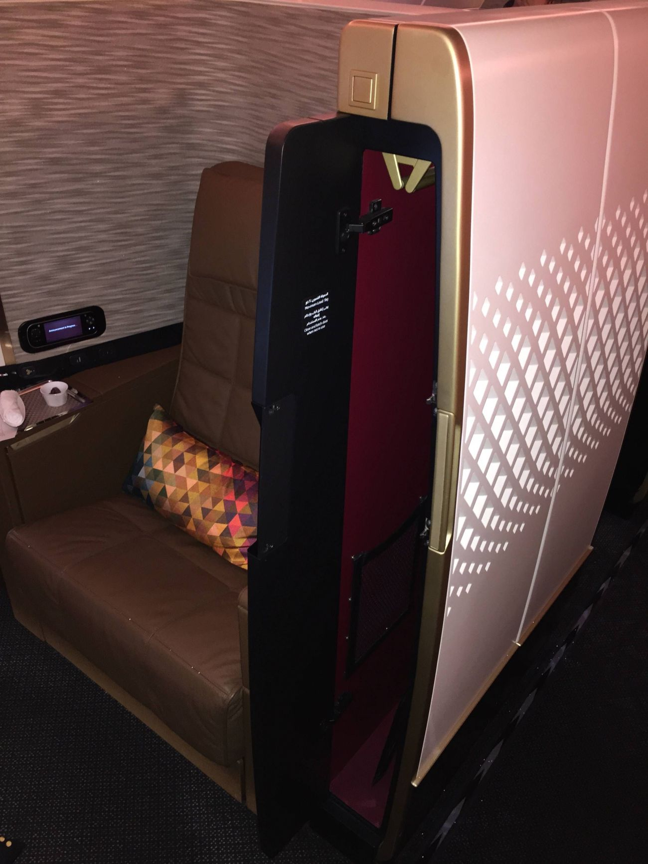 First Class Apartment A380 Etihad - PassageirodePrimeira20