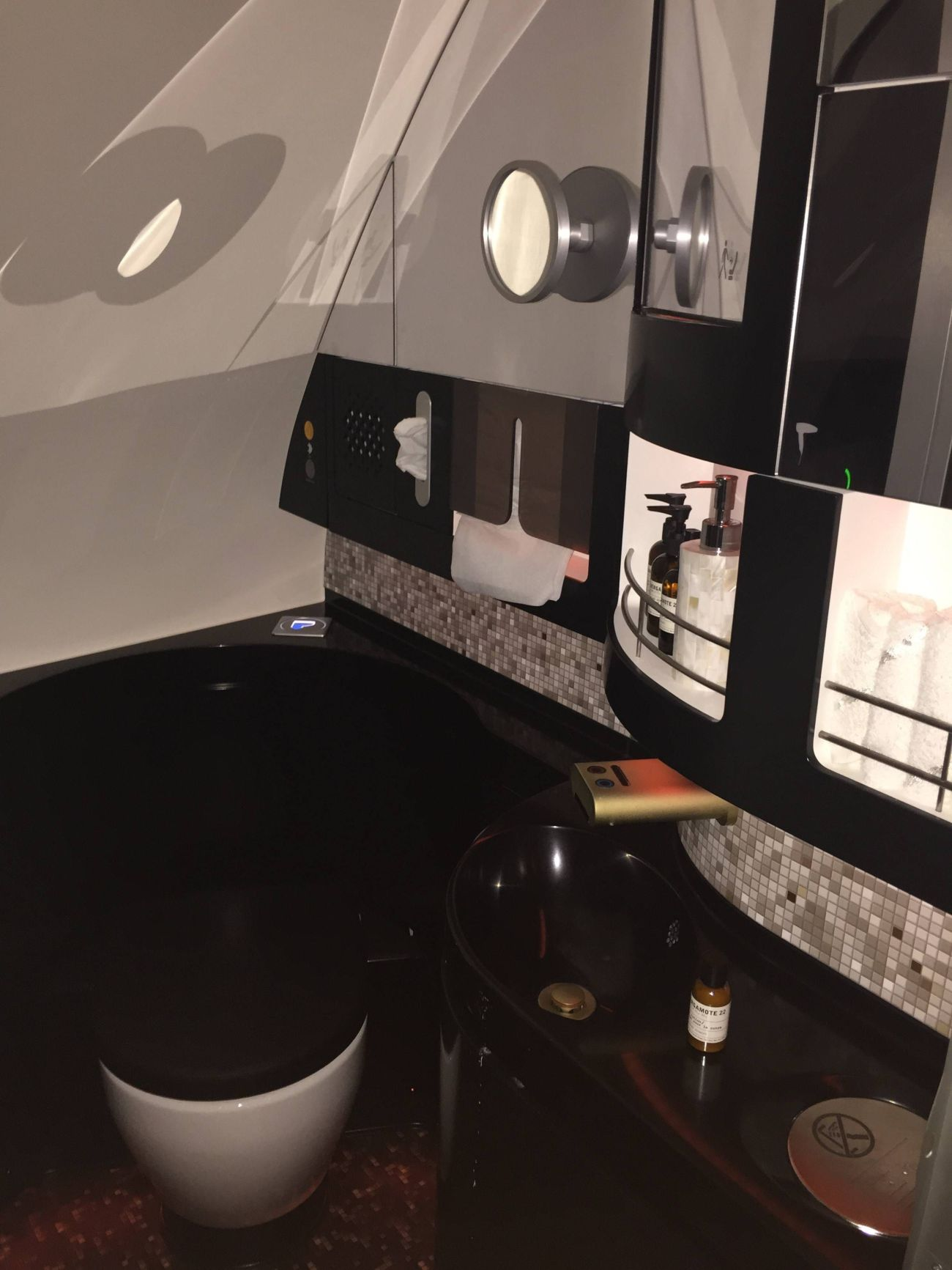 First Class Apartment A380 Etihad - PassageirodePrimeira53