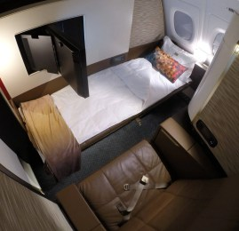 Primeira Classe da Etihad Airways no A380 – First Class Apartment