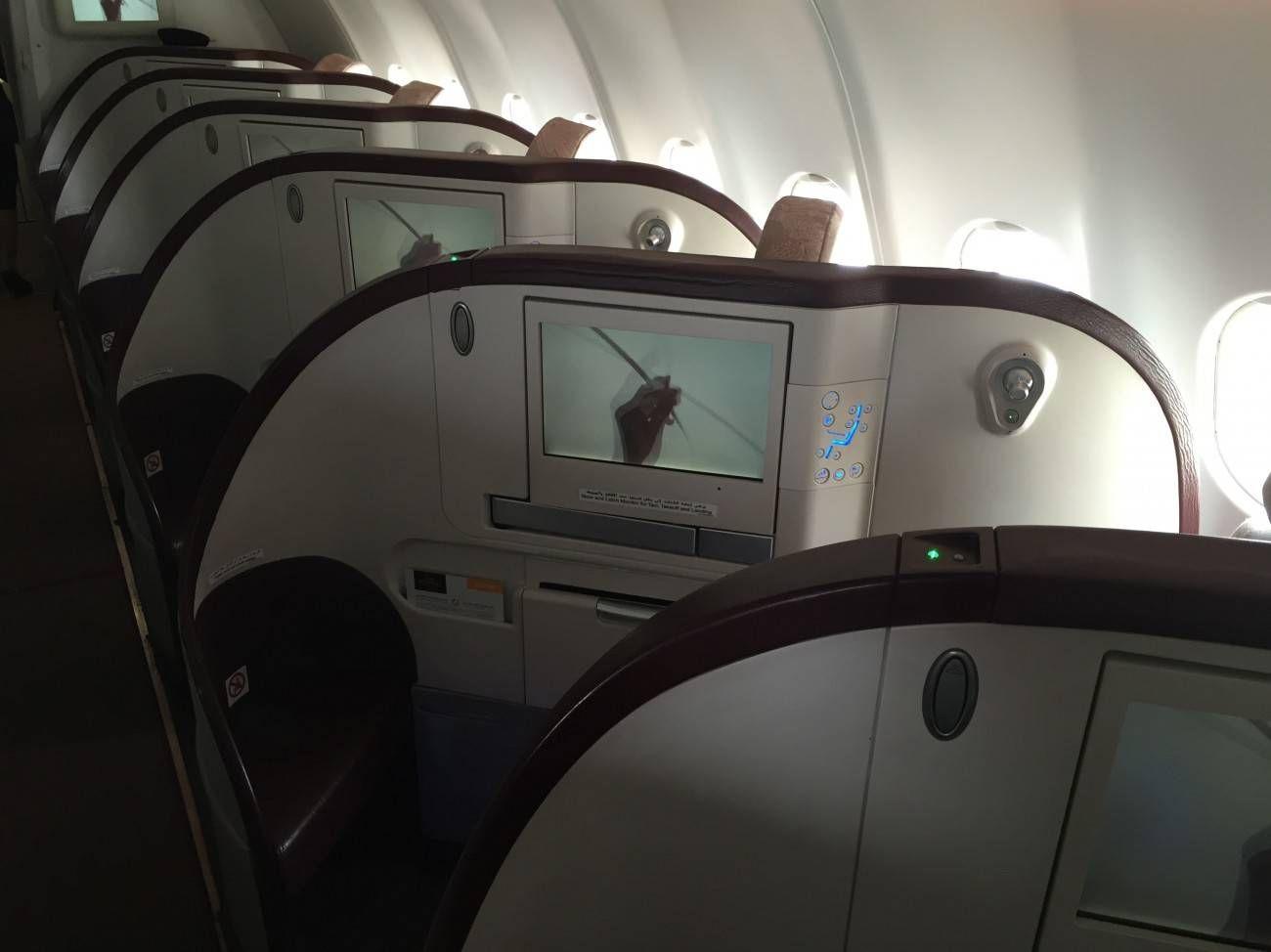 Jet Airways A330 Business Class Etihad Passageirodeprimeira -06