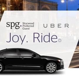 Ganhe pontos na rede de hotéis Starwood usando o aplicativo Uber