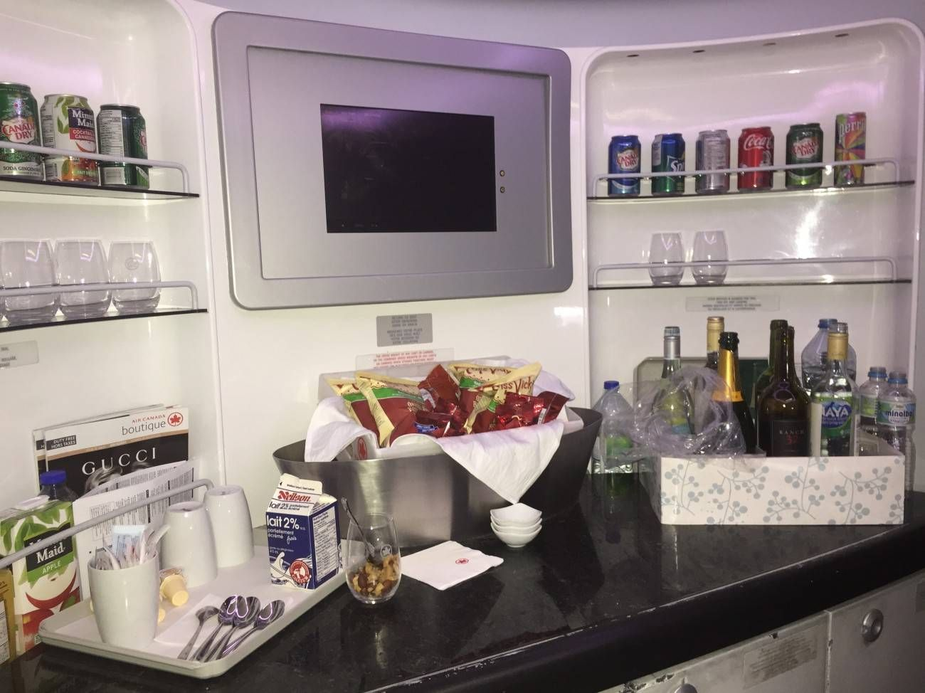 Air Canada B777 Business Class-027