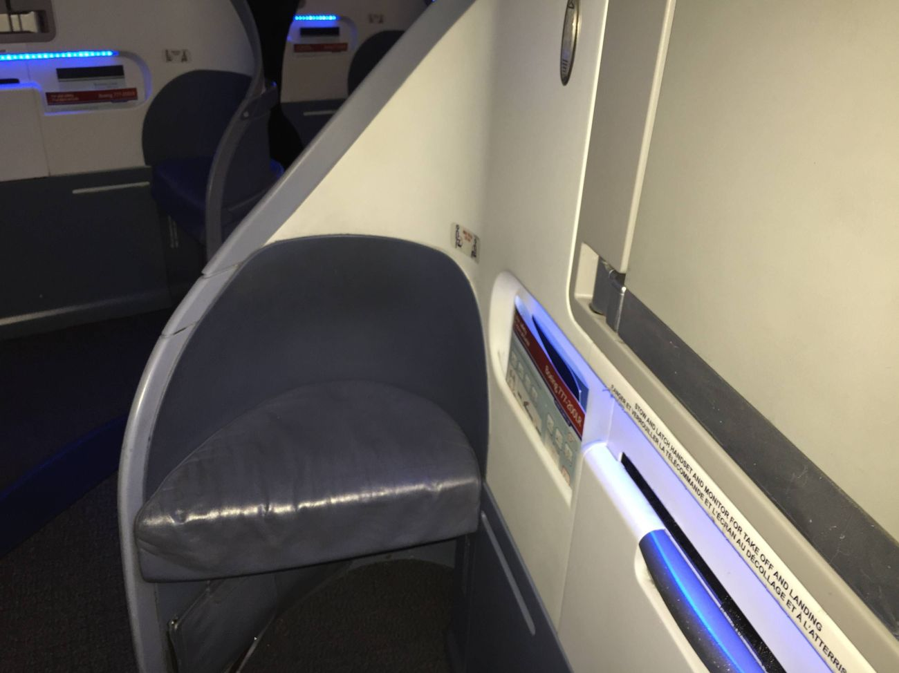 Air Canada B777 Business Class-07