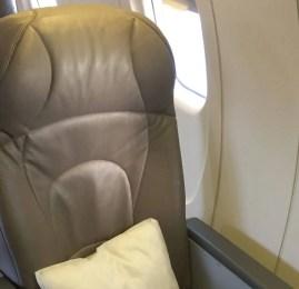 Classe Executiva da Air Canada no CRJ705