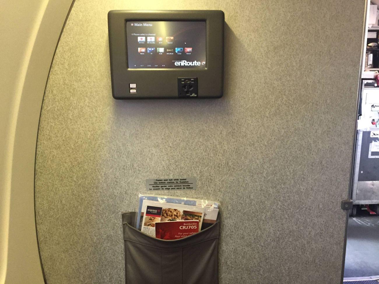 Air Canada Business Class CRJ-04