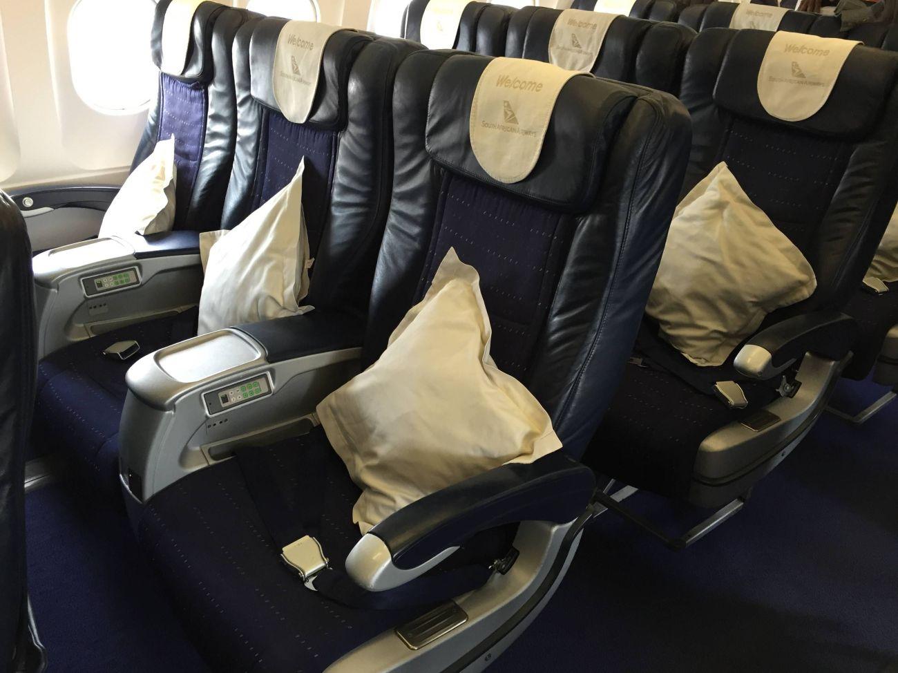 SAA business Class A319-01