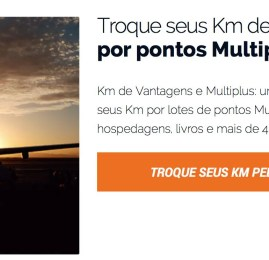 Problema na transferência de KM de Vantagens para Multiplus