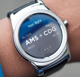 KLM lança aplicativo para Android Smartwatches