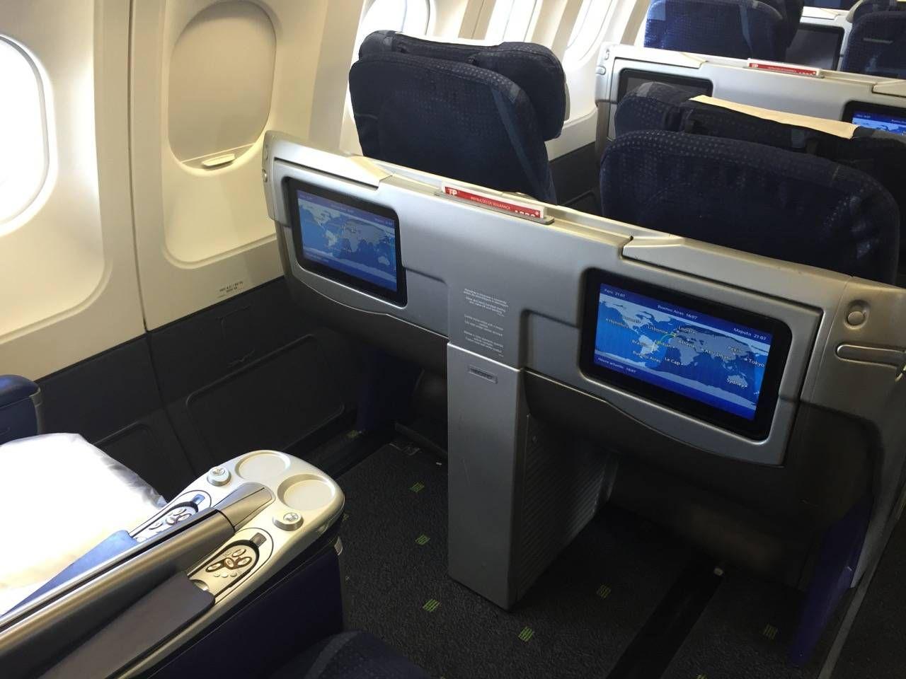 Classe Executiva TAP A330 Passageiro de Primeira-03