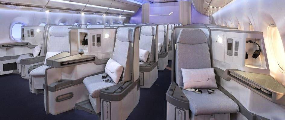 Finnair A350 XWB Business class cabin