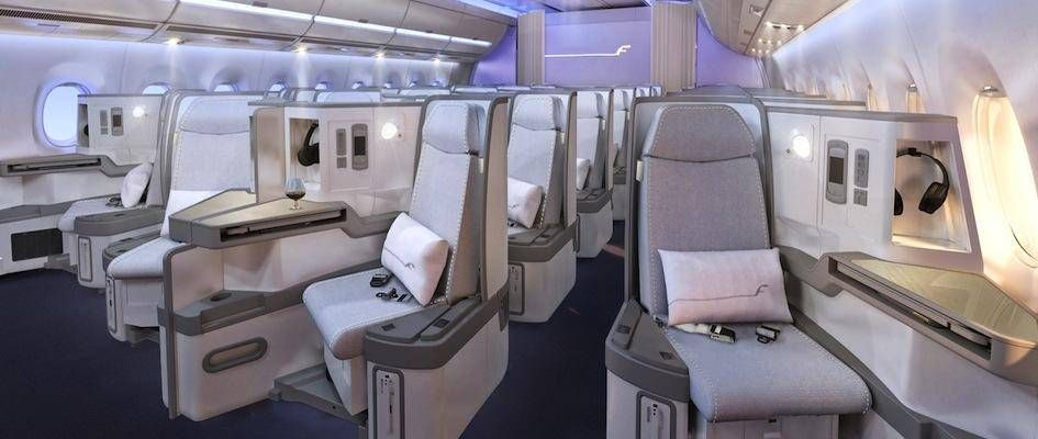 Finnair A350 XWB Business class cabin