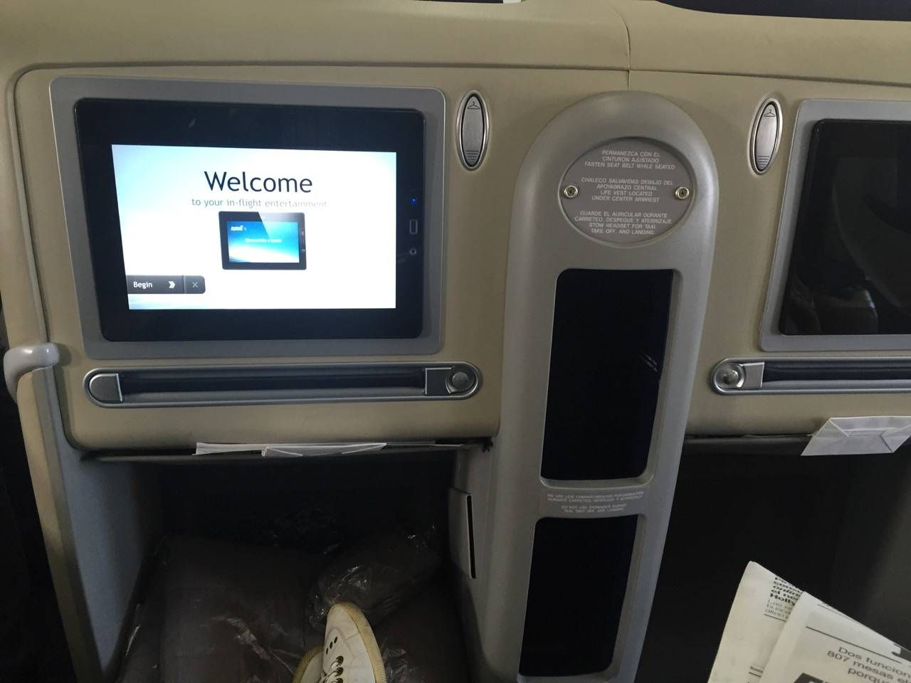 Aerolineas Argentinas Classe Executiva Business Class -09