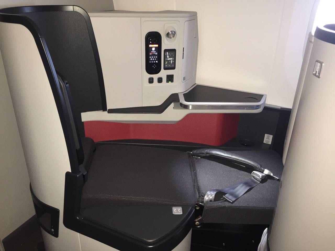Avianca B787 Classe Executiva Business class-030