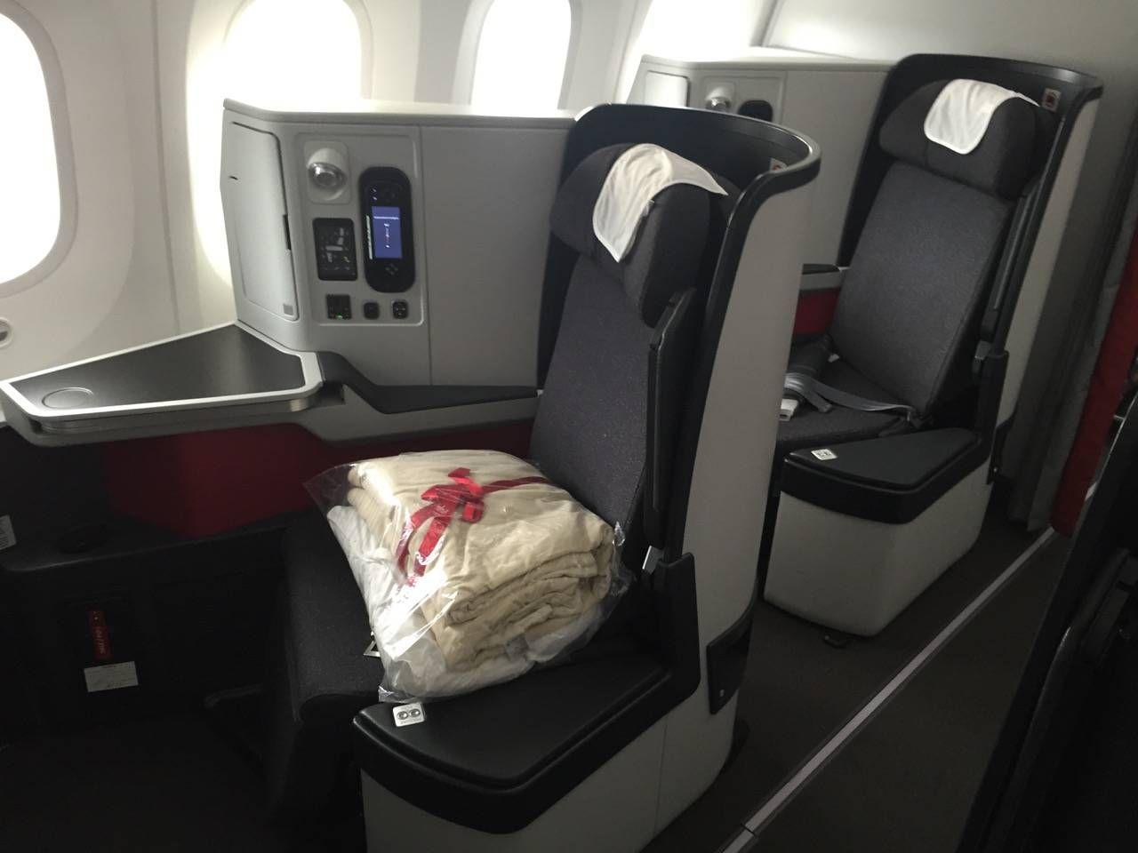 Avianca B787 Classe Executiva Business class-08