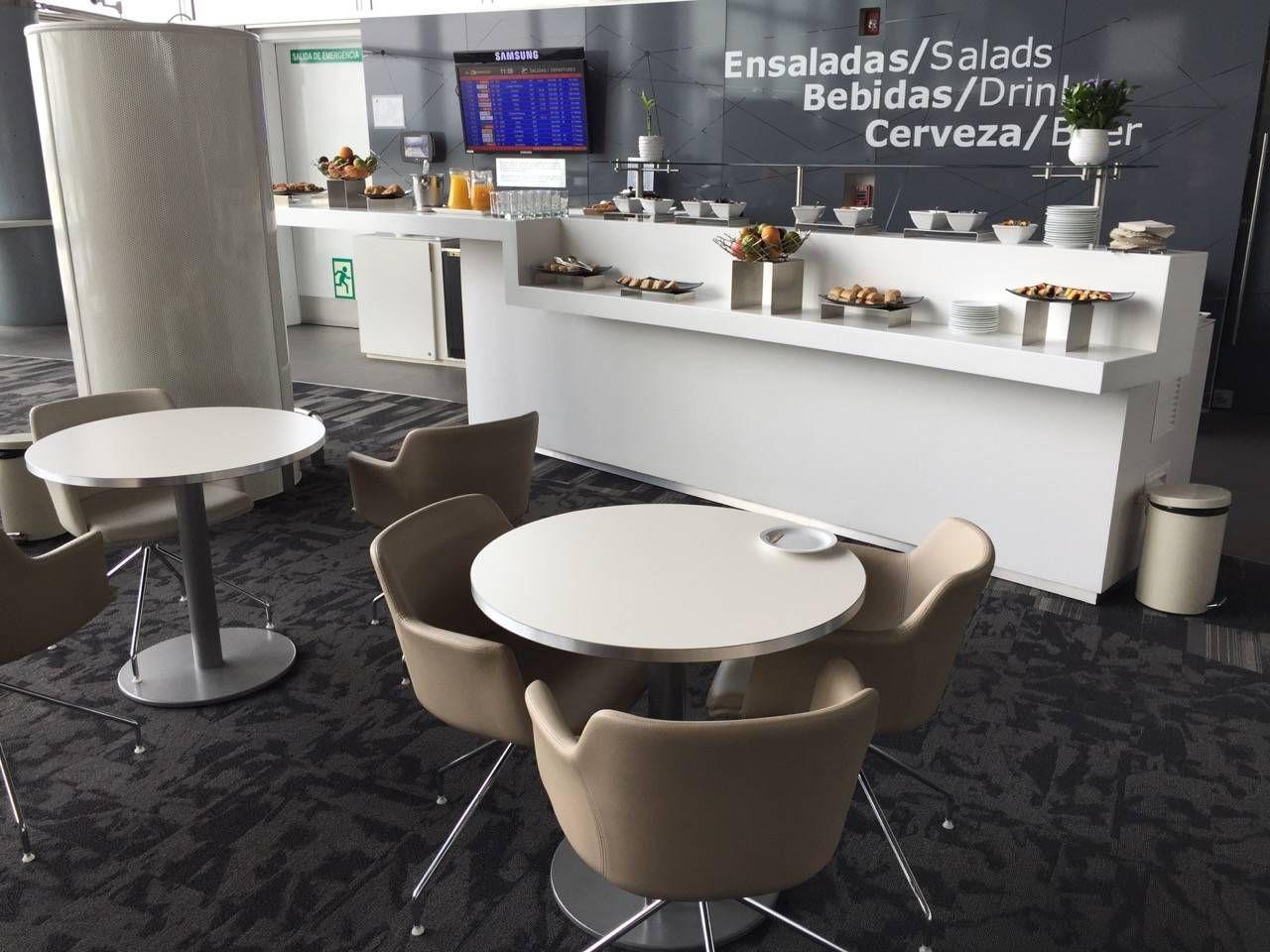 Avianca Lounge Bogota -034
