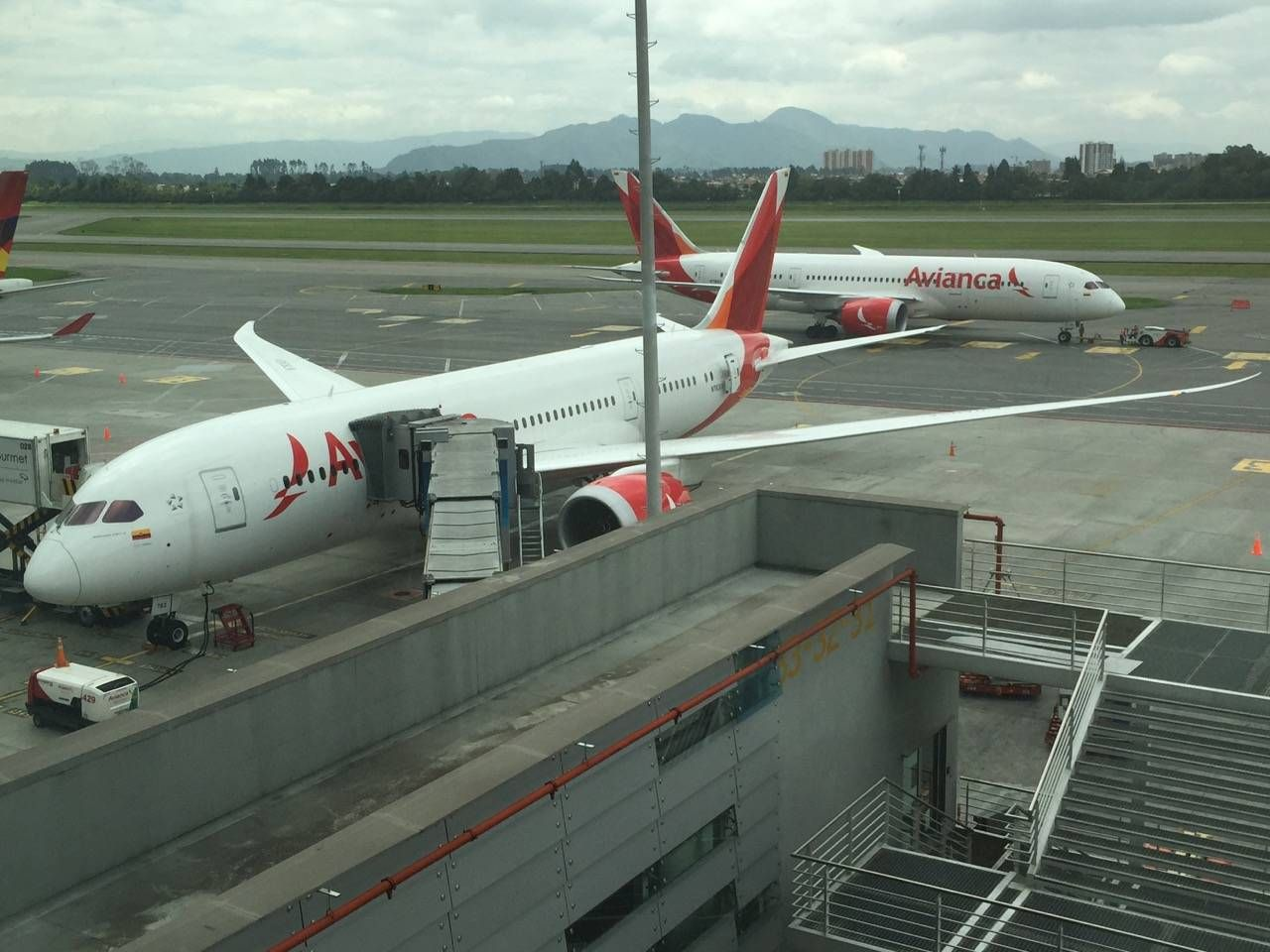 Avianca Lounge Bogota -036