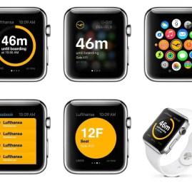 Lufthansa agora está disponível também no Apple Watch