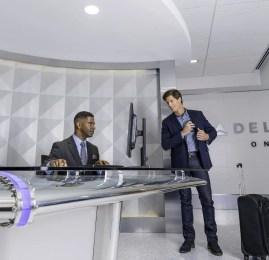 Conclusão do Terminal 5 no Aeroporto Internacional de Los Angeles traz nova experiência em todo o terminal e conta com a primeiro lounge privado de check-in da Delta
