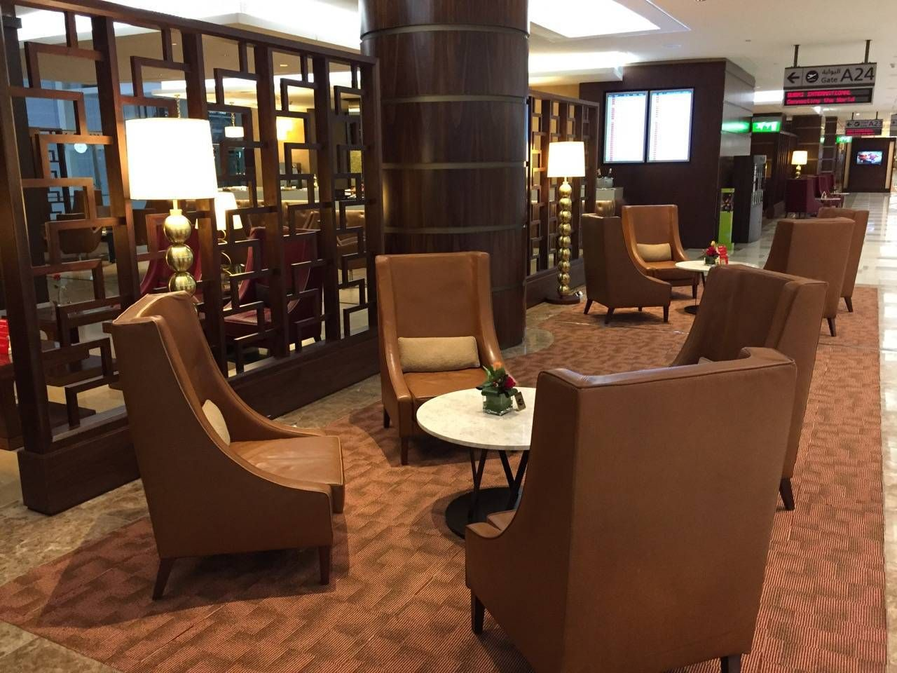 Emirates First Class Lounge Dubai -020