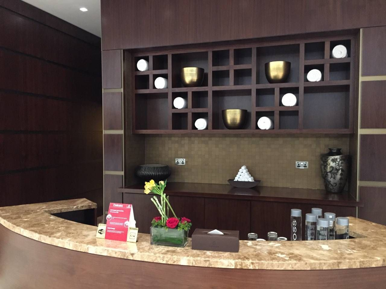 Emirates First Class Lounge Dubai -067