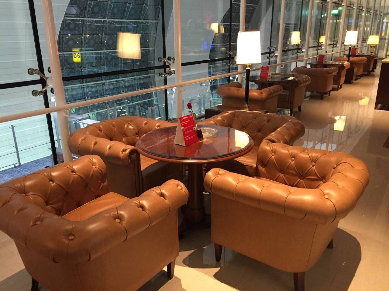 Emirates First Class Lounge Dubai -073