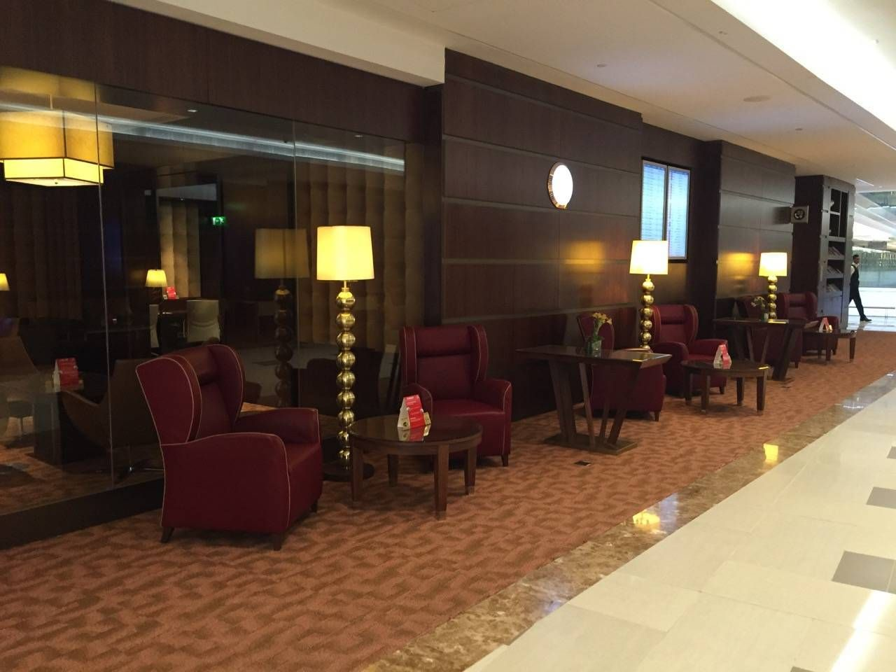 Emirates First Class Lounge Dubai -079
