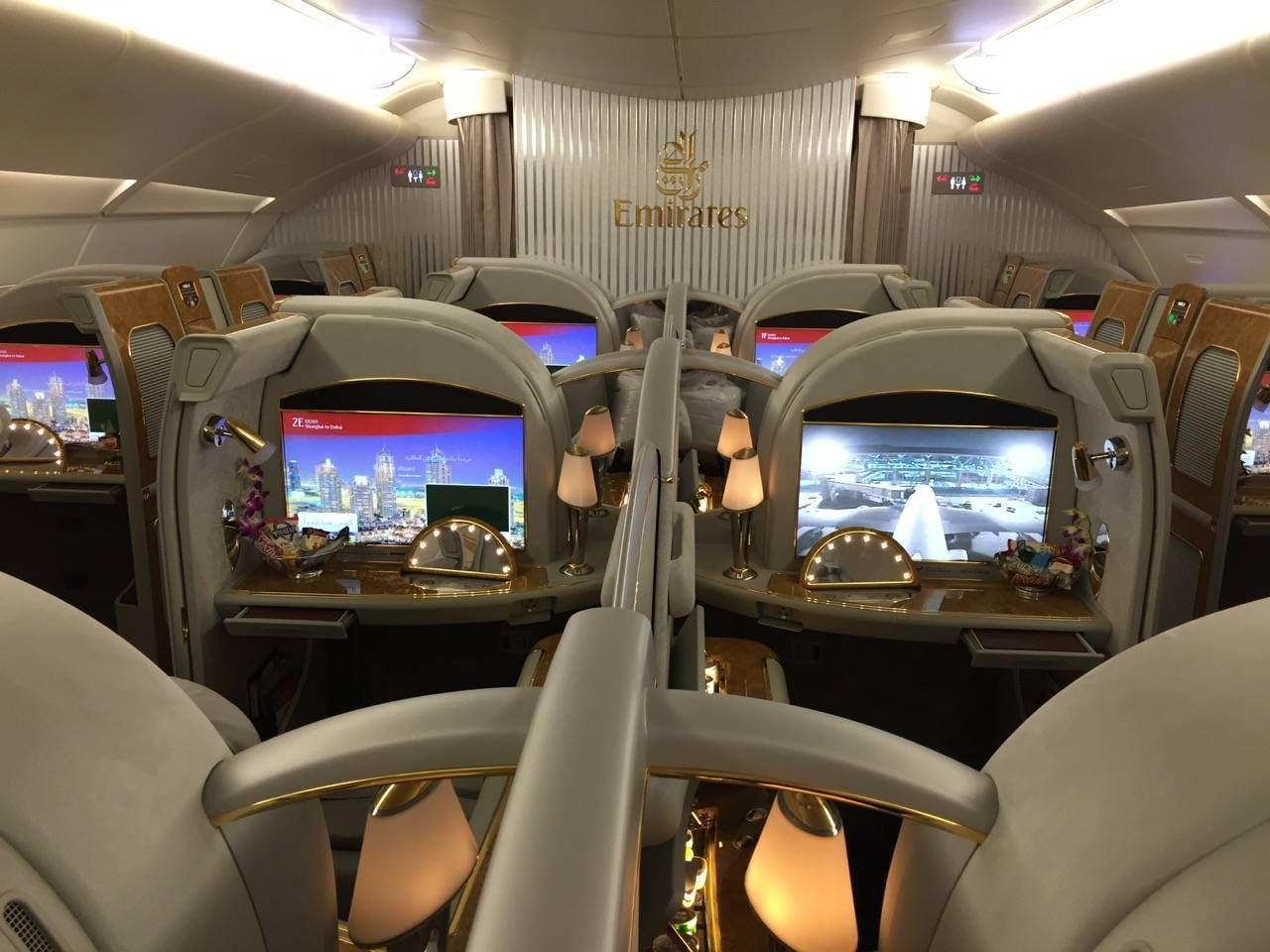 Emirates First Class PVG-DXB-015