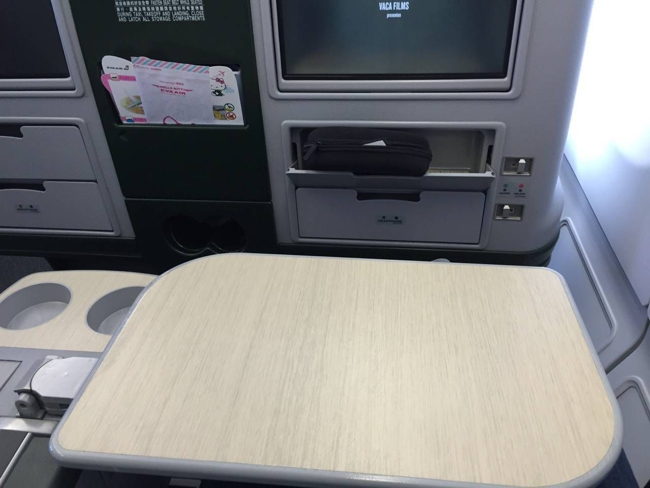 Eva Air A330 Business Class Royal Lauren-034