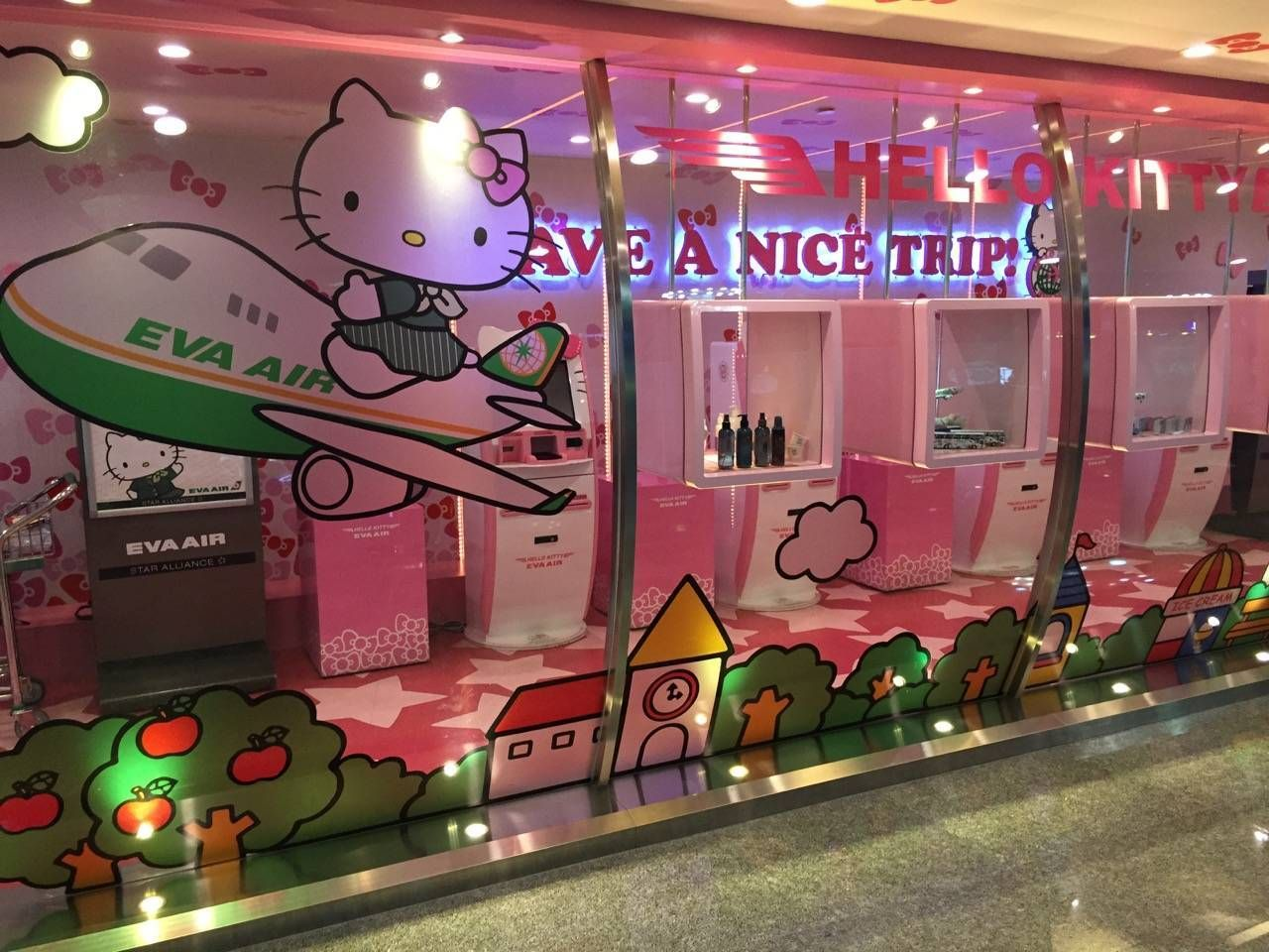 Hello Kitty Check-in1