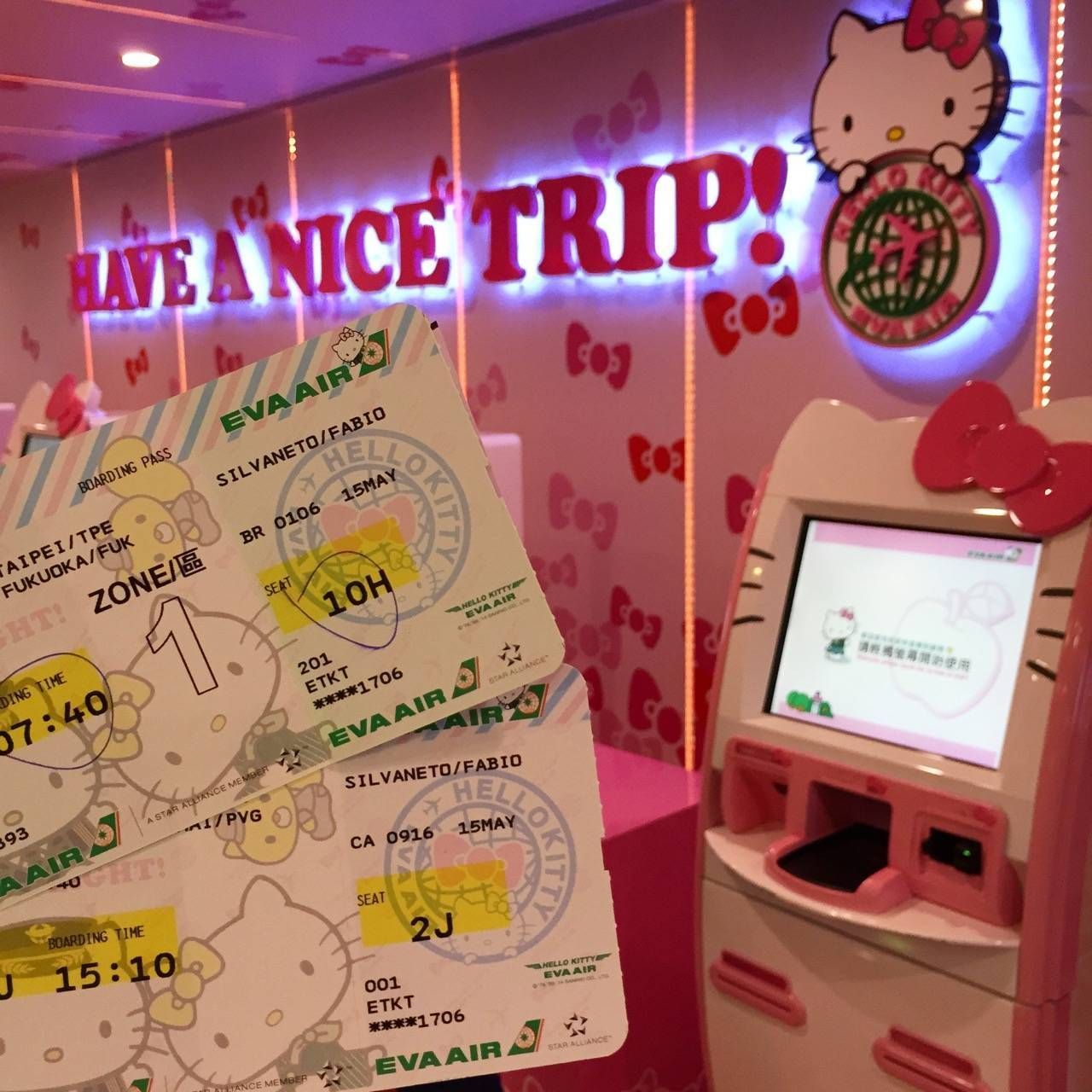 Hello Kitty Check-in6