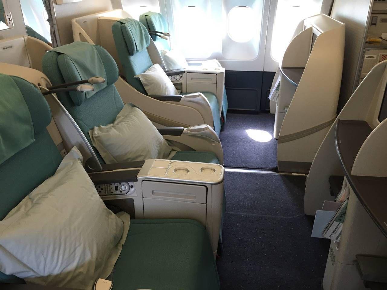 Korean Air First Class A330-02