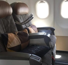 Classe Executiva da Etihad Airways no A320 – Amman para Abu Dhabi
