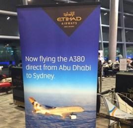 Introdução – Inaugurando o A380 para Sydney com a Etihad Airways