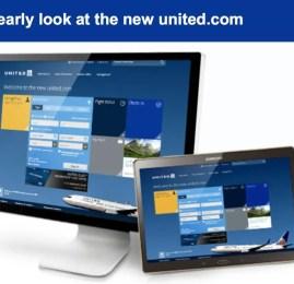 Conheça o novo site da United Airlines