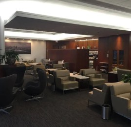 Sala VIP United Global First Lounge – Aeroporto de Chicago (ORD)