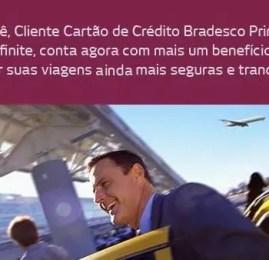 Visa Infinite oferece seguro em caso de perda de conexão aérea