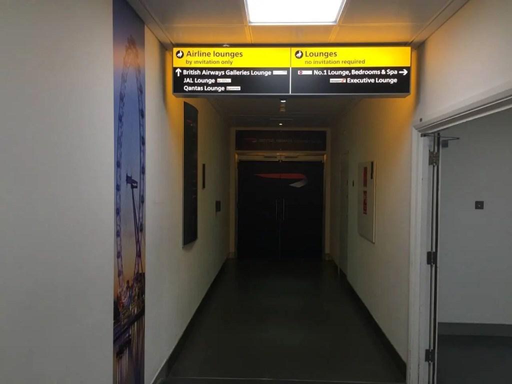 British Airways Galleries Lounge T3-016