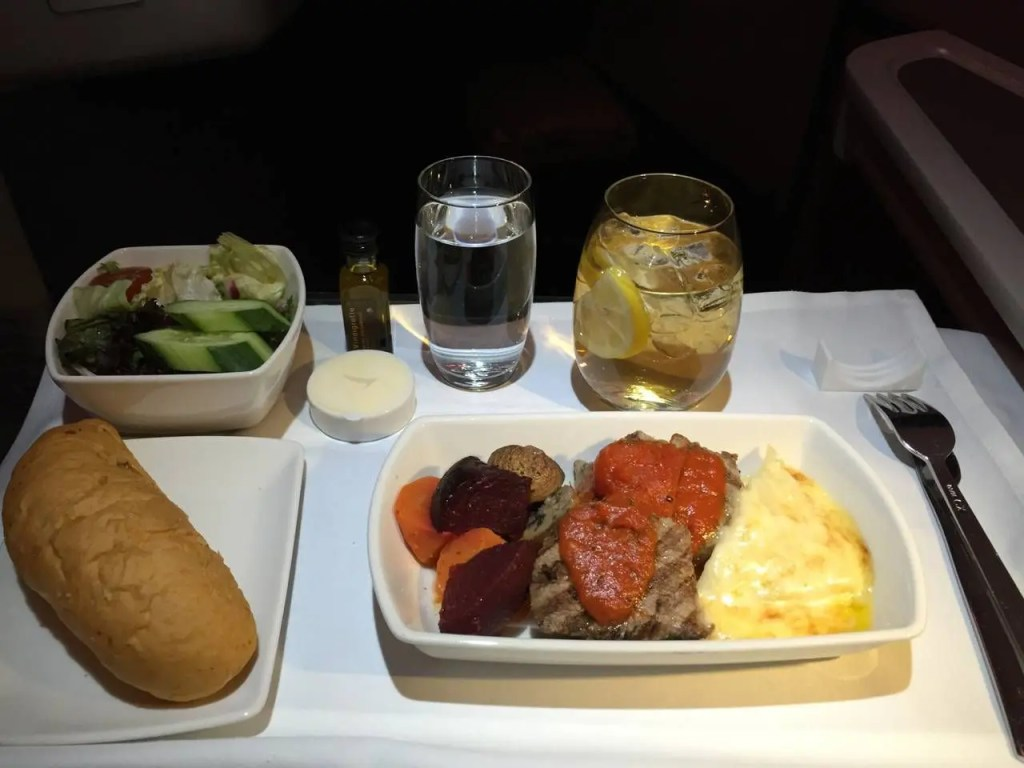 Cathay Pacific A330 Business Class-034