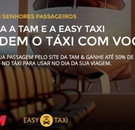 TAM e Easy Taxi terminam parceria