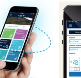 Sistemas de busca e pagamento são os novos destaques do novo aplicativo da Azul para celular
